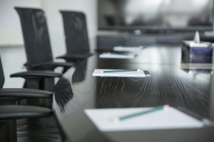 Board room for the Denver accident lawyer